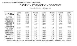 Mersul microbuzelor Saveni Vorniceni Dorohoi_001
