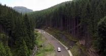 Cum arată Transrarăul, cel mai nou drum montan din România