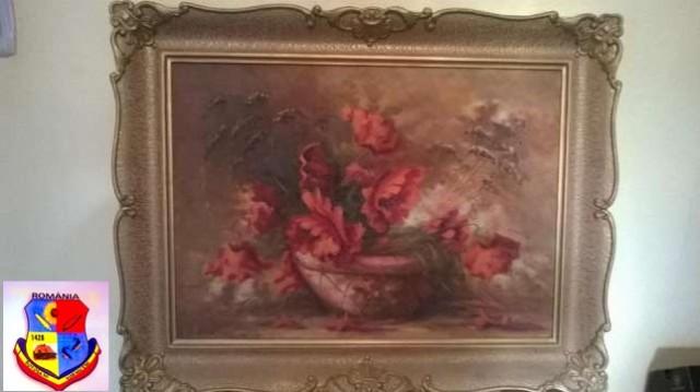pictura pe panza victor acatrinei