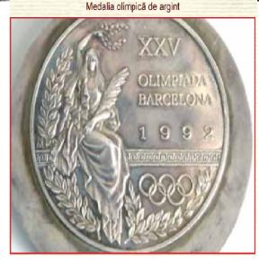 medalia olimpica de argint