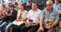 Sfintirea temeliei  viitorului Camin Cultural al comunei Vorniceni