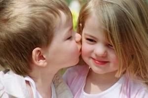 sarut-copii