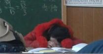 Oră de somn în loc de oră de matematică la o școală din Vorniceni